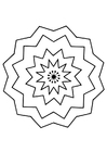 Coloring pages mandala9