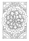 Coloring pages mandala9a