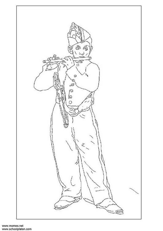 Coloring page Manet
