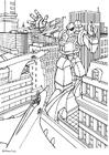 Coloring page manga - transformer