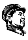 Coloring pages Mao Zedong