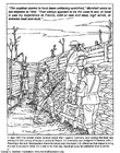 Coloring pages First World War