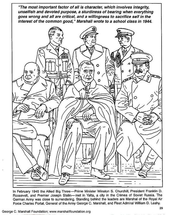 Coloring page marshall 34