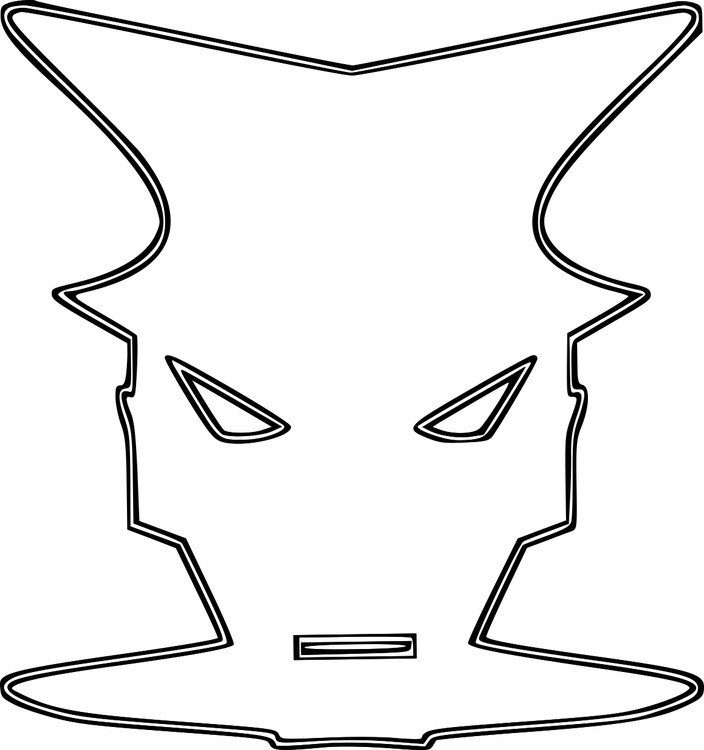 Coloring page Mask