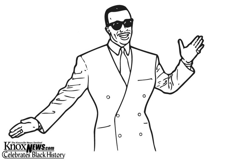 Coloring page Mc Hammer