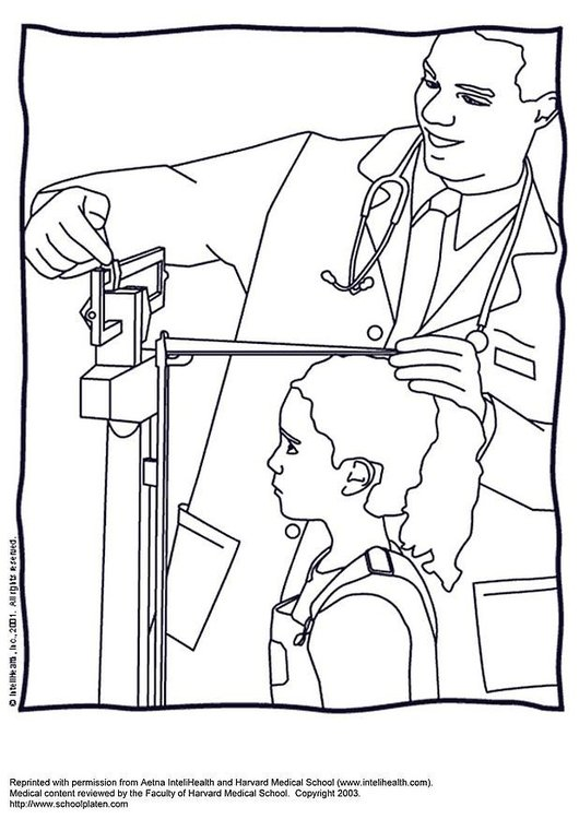 Coloring page measure