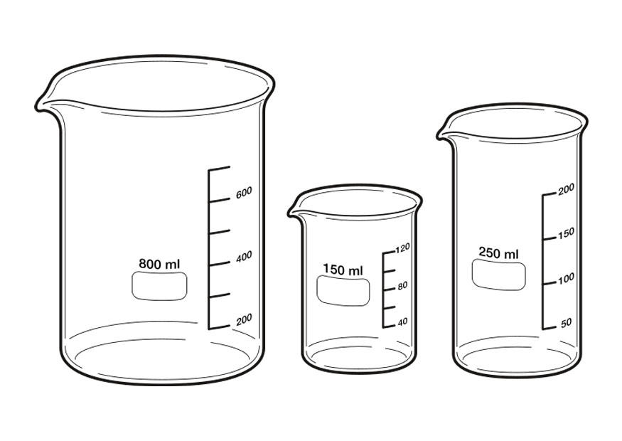free measuring cup coloring pages - photo#11