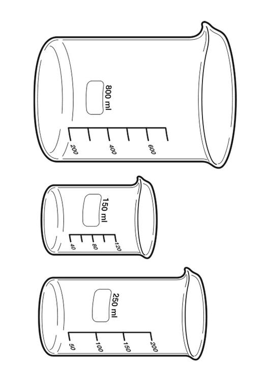 free measuring cup coloring pages - photo#8