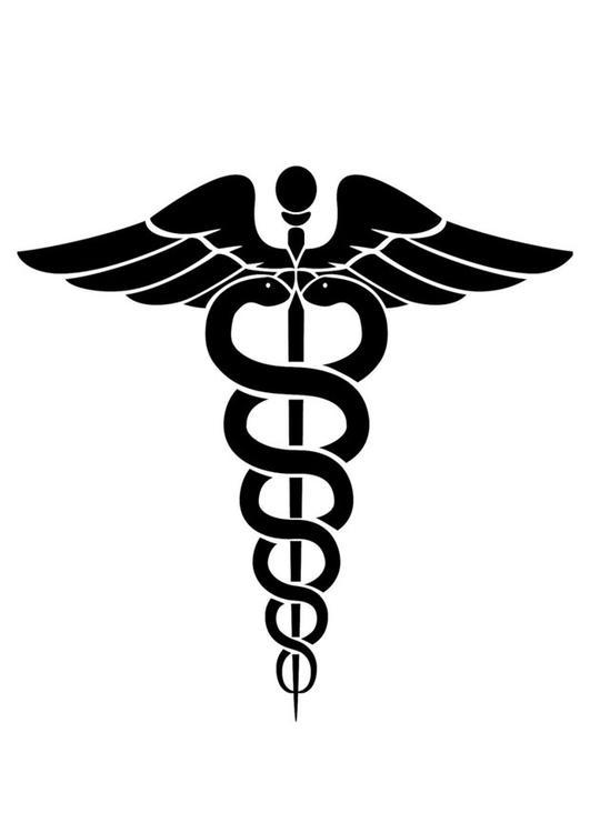 Coloring Page Medical Symbol Img 24724