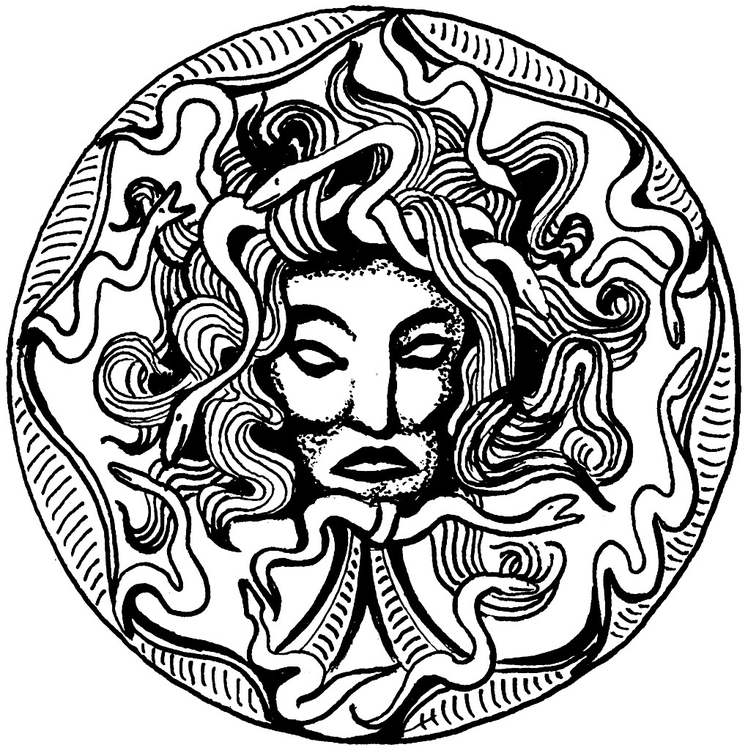 Coloring Page Medusa Free Printable Coloring Pages