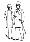 Coloring pages men's clothing 1892