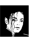 Coloring pages Michael Jackson