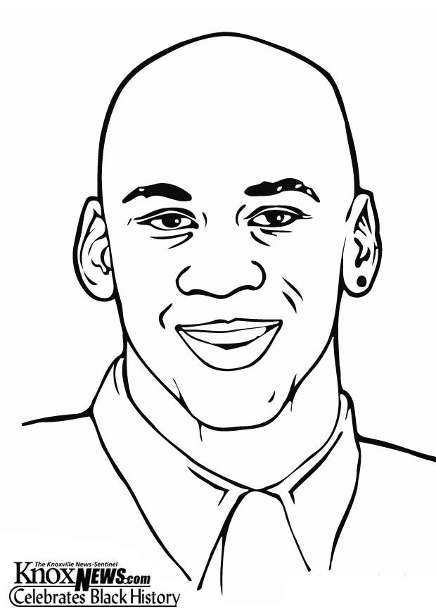 easy jordan coloring pages - photo#33