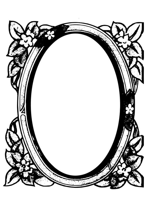Mirror images coloring pages ~ Coloring page mirror - img 28087.