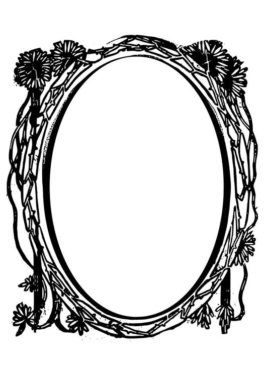 Mirror images coloring pages ~ Coloring page mirror - img 28075.