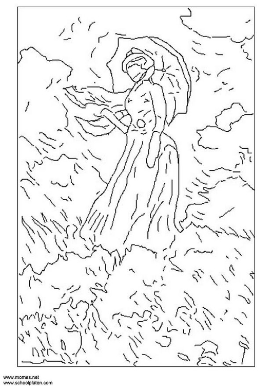 Coloring page Monet img 3120