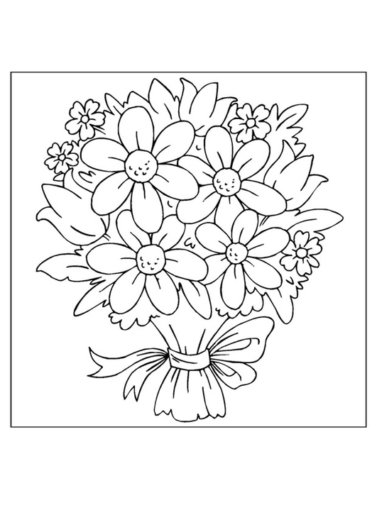Coloring page Mother's Day