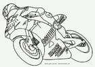 Coloring pages Moto GP