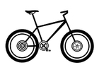 Coloring pages mountainbike