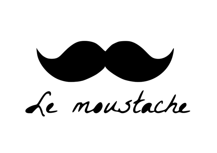 Coloring page moustache - img 27667.