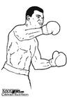 Coloring page Muhammad Ali