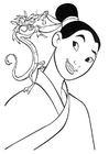 Coloring pages Mulan