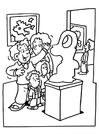 Coloring pages museum