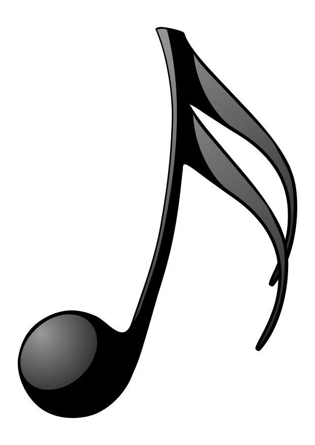 Coloring Page Music Note Img 10469 Note Coloring Pages