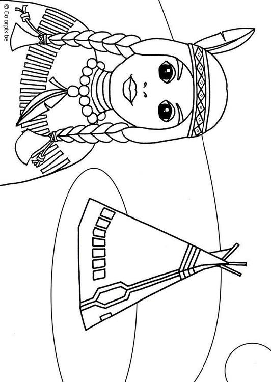 Native American Coloring Pages Print http://www.edupics.com/coloring-page-native-american-i6820.html