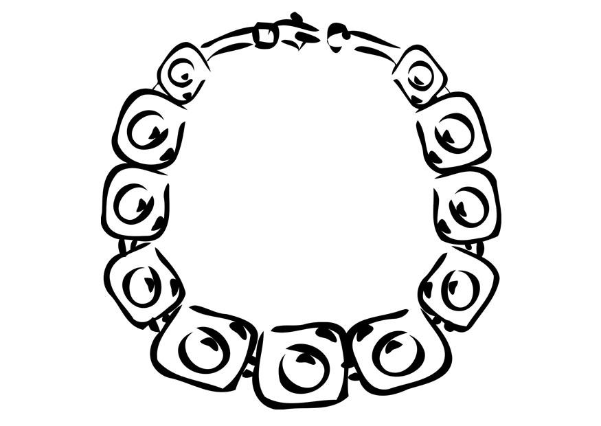 Coloring Page Necklace Img 19356