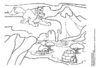 Coloring page neopets winter