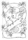 Coloring pages number - 2