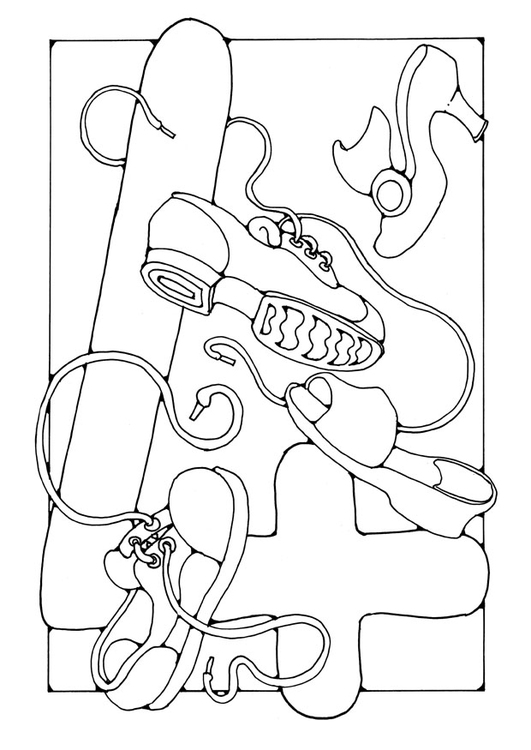 Coloring page number - 4