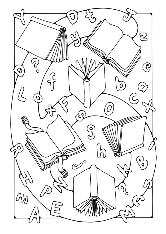 Coloring page number - 6