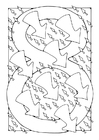 Coloring pages number - 8
