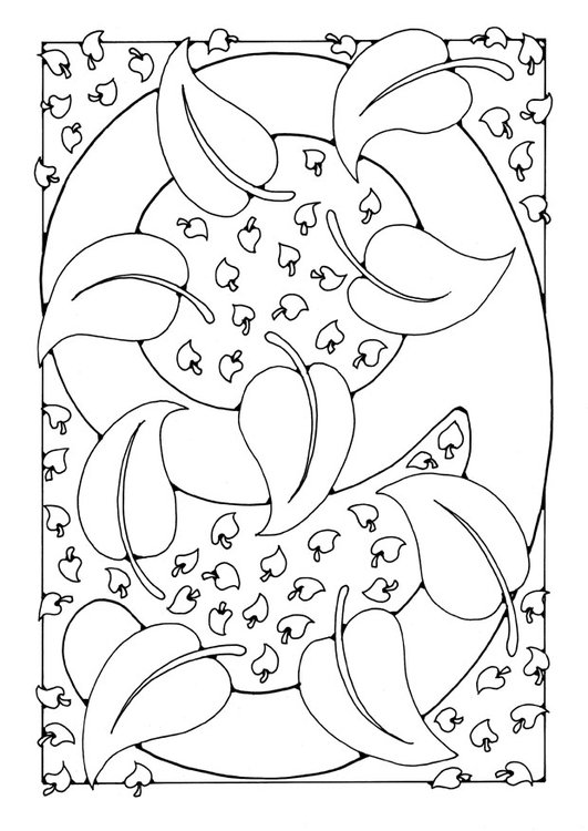 Coloring page number - 9
