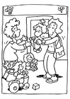 Coloring page nursery class