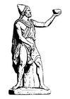 Coloring page Odysseus