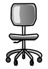 Coloring pages office chair