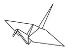 Coloring pages Origami