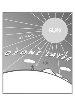 Coloring page ozone