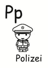 Coloring page p