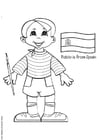 Coloring page Pablo from Spain