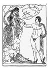 Coloring pages perseus and andromeda