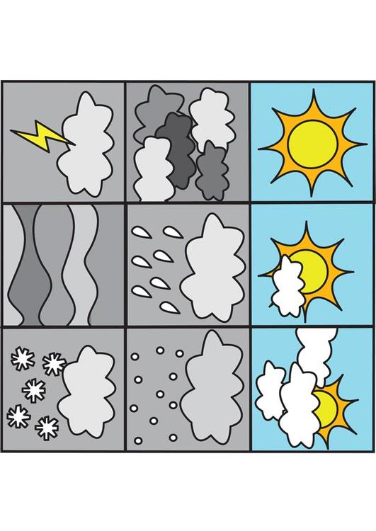 pictograms weather 1