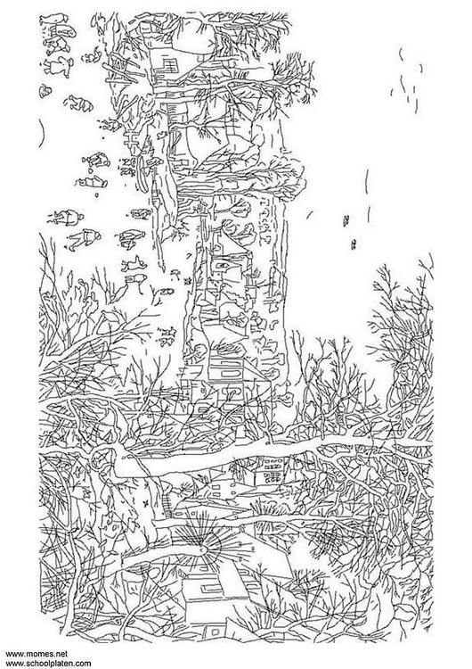 Coloring Page Pieter Brueghel Img 3121 Images