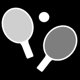 Coloring page ping pong