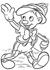 Coloring page Pinocchio