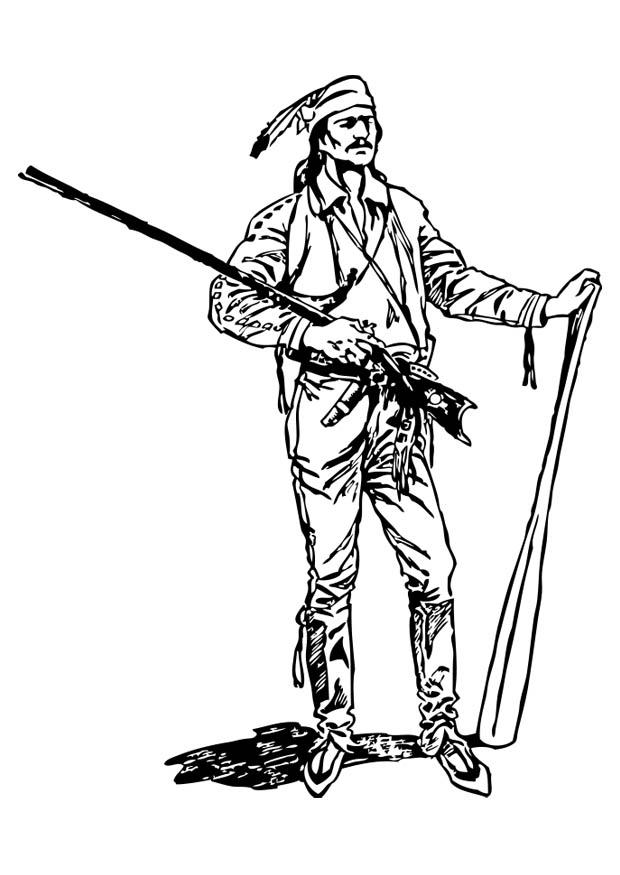 free coloring pages pioneers - photo#40