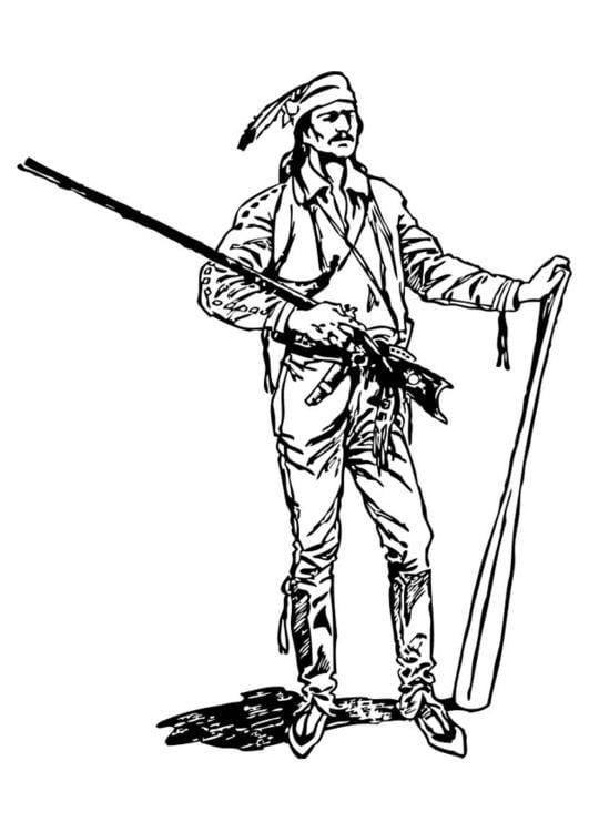 coloring page pioneer img 17391